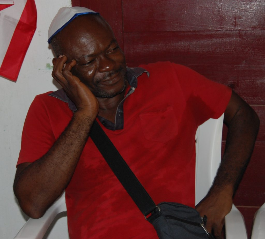 Bassa leader: Frederick Ndawo (Photo by Serge Etele)
