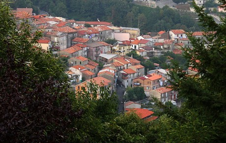 The town of Serrastretta. (Photo by Domenico Pulice)