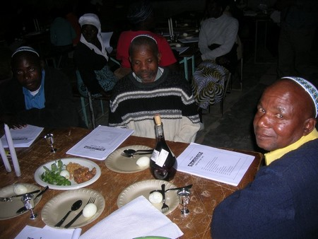 image: First Passover Seder among the Lemba in modern times