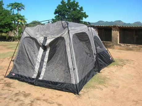 Sandy's Tent Photo by Sandy Leeder
