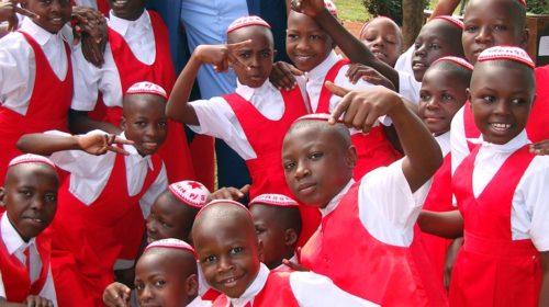 Abayudaya children in Uganda