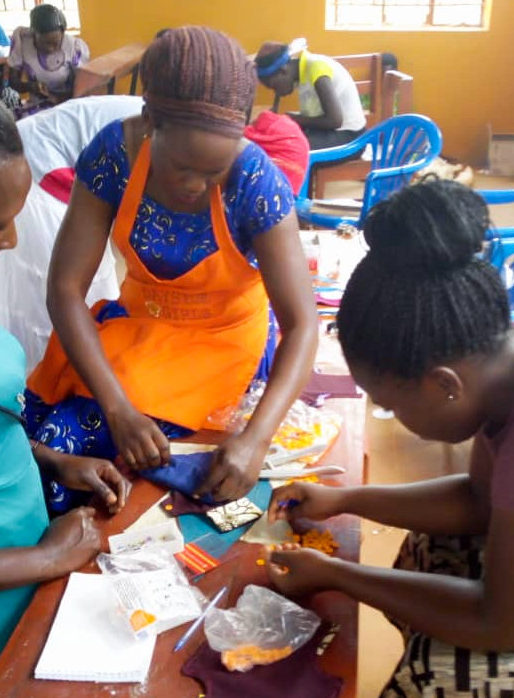 Namutumba Days for Girls workshop in Uganda